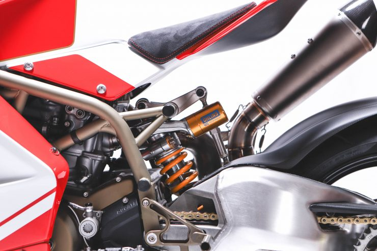 Custom Ducati Rear Suspension