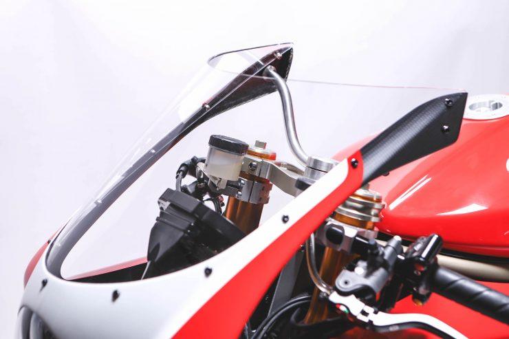 Custom Ducati Wind Deflector
