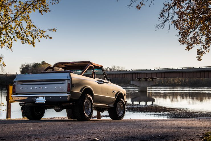 Chevrolet K-5 Blazer Back