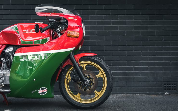 Ducati 900 Mike Hailwood Replica Front End