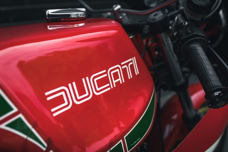Ducati 900 Mike Hailwood Replica Fuel Tank