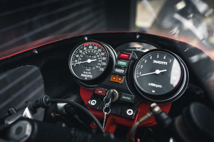 Ducati 900 Mike Hailwood Replica Gauges