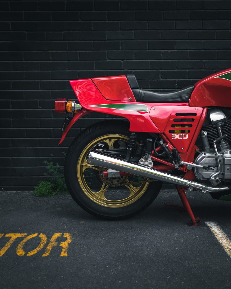 Ducati 900 Mike Hailwood Replica Rear