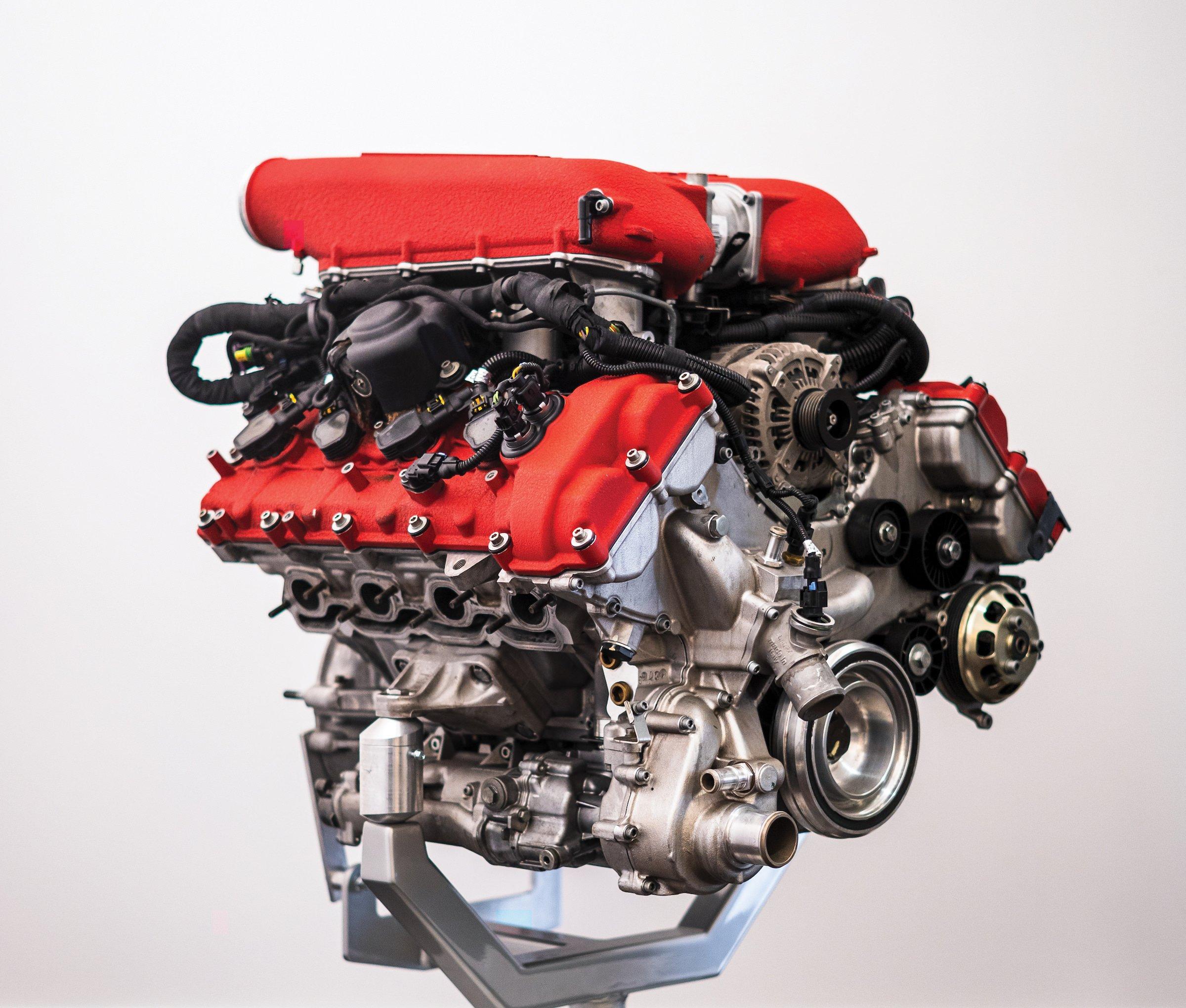 Ferrari 458 V8 Engine 1