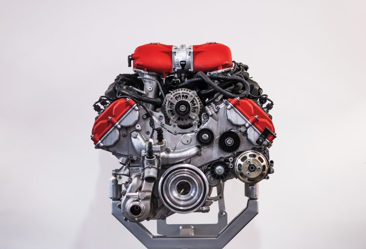 Ferrari 458 V8 Engine 3