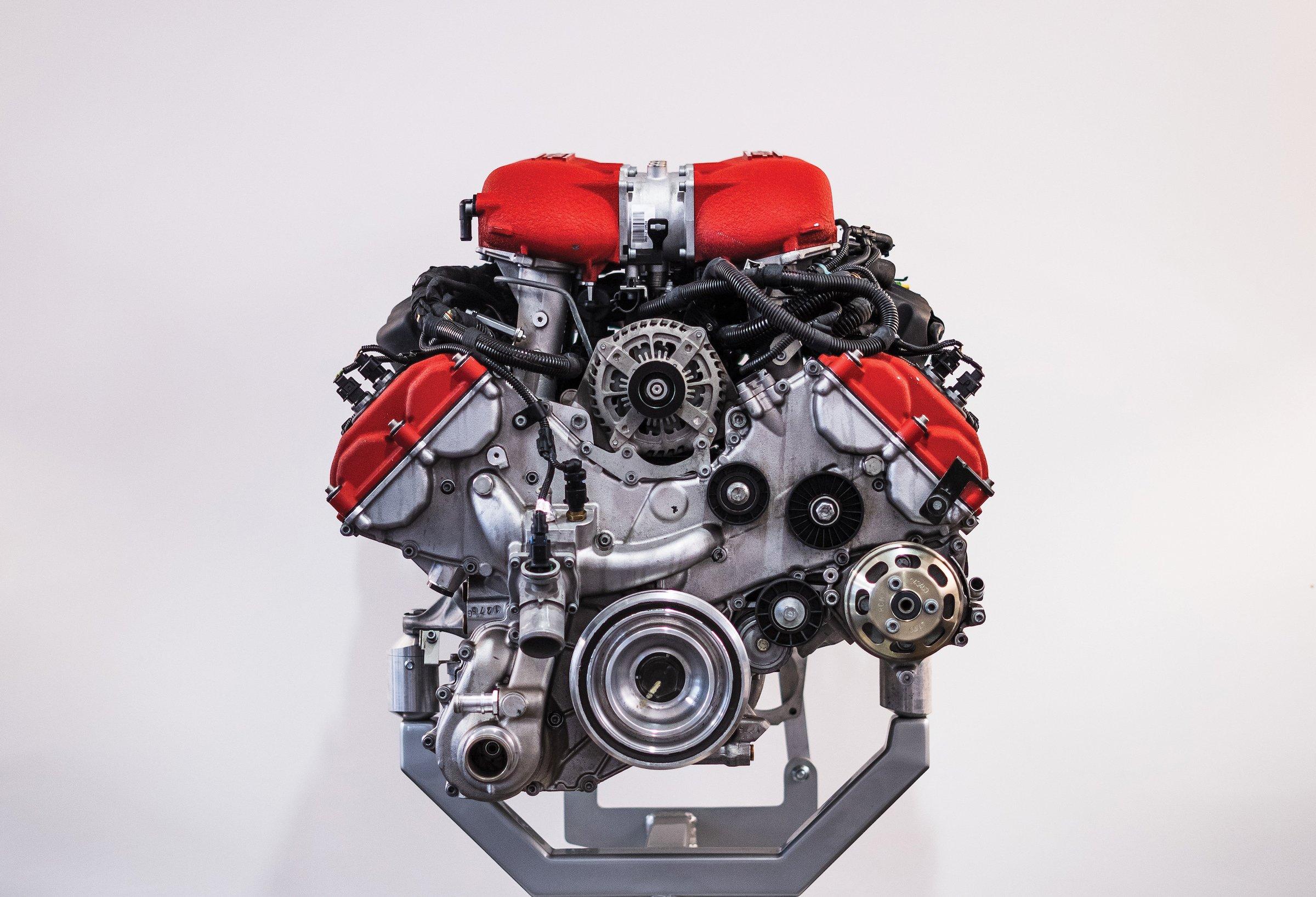 Ferrari V Engine