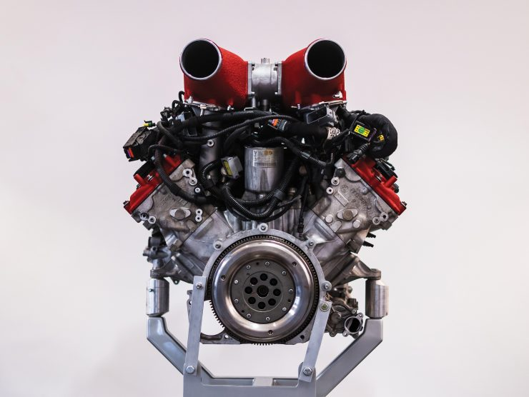 Ferrari 458 V8 Engine 4