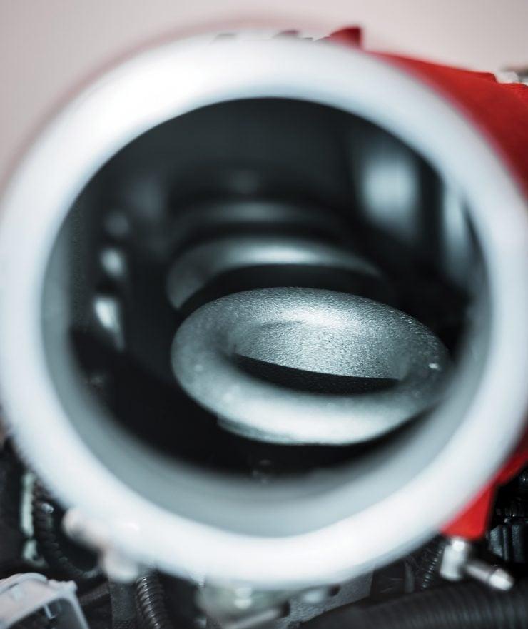 Ferrari 458 V8 Engine Velocity Stacks