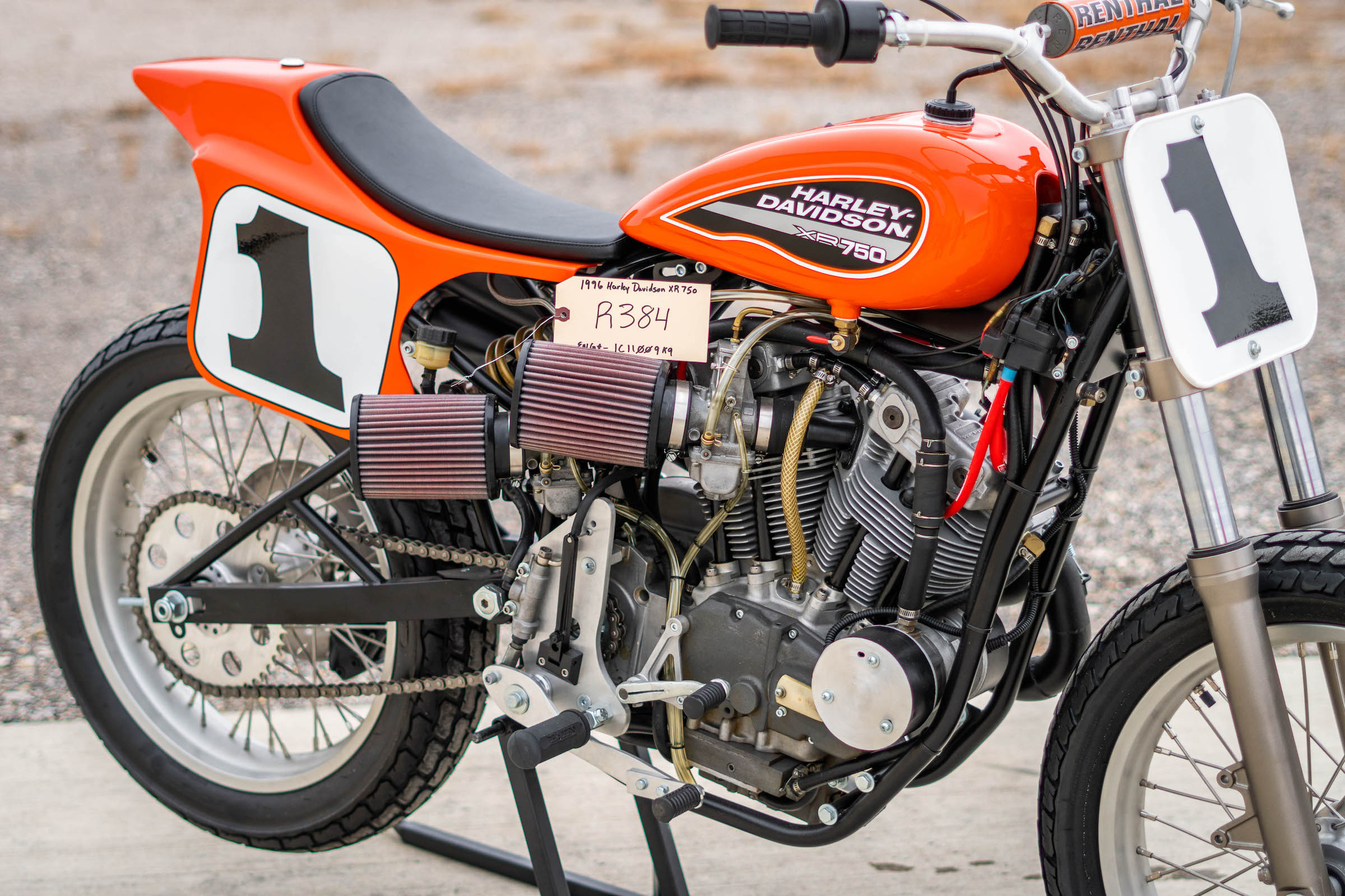 Harley Davidson: A Restored Racer Ready For The