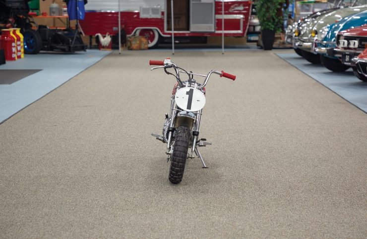 Honda Monkey Z50R Front