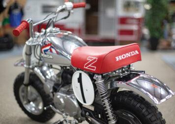 Honda Monkey Z50R Rear