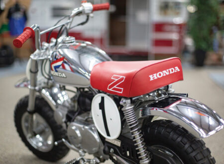 Honda Monkey Z50R Rear