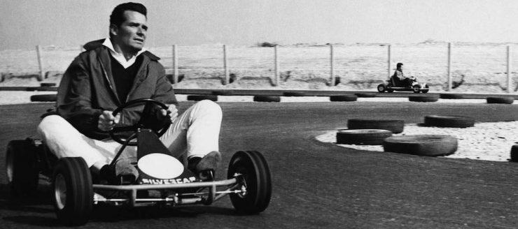 James Garner Go Kart
