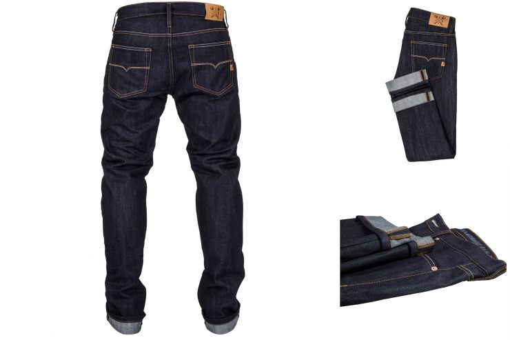 John Doe Ironhead Motorcycle Jeans Back 740x493 - John Doe Ironhead Motorcycle Jeans - Raw Denim + XTM® + Kevlar®