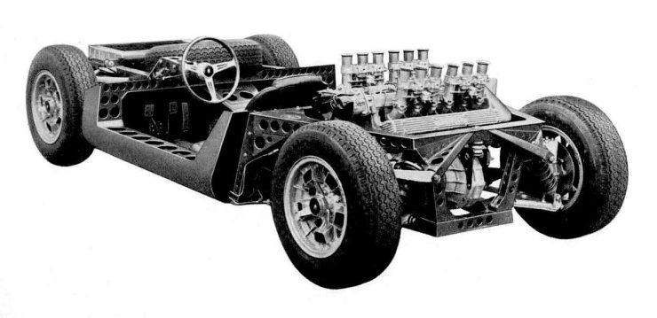 Lamborghini Miura Chassis