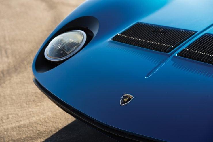 Lamborghini Miura P400 SV Headlight