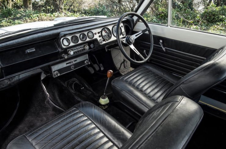 Lotus Cortina Mk1 Interior 2