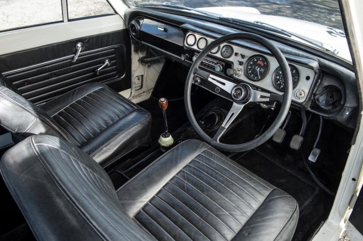 Lotus Cortina Mk1 Interior