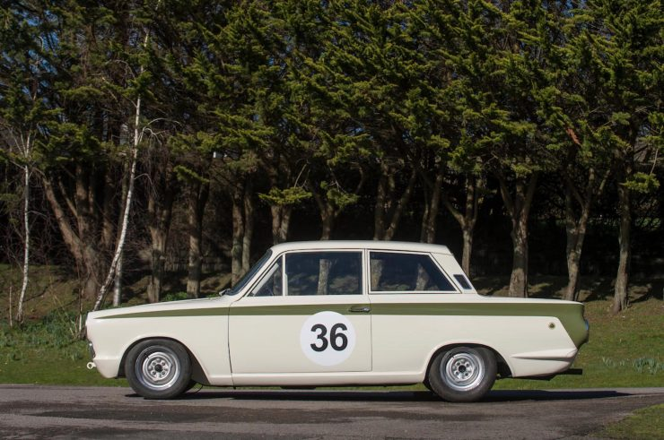 Lotus Cortina Mk1 Left Side