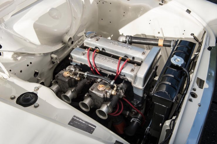 Lotus Cortina Mk1 Twin Cam Engine