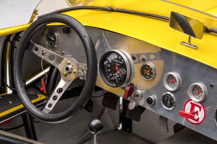 Ol' Yaller Mark IX Race Car Cockpit 2
