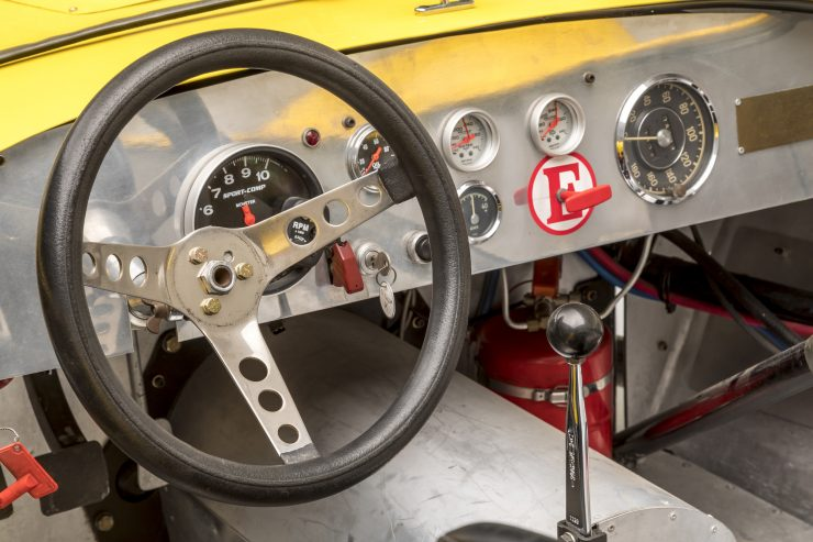 Ol' Yaller Mark IX Race Car Cockpit