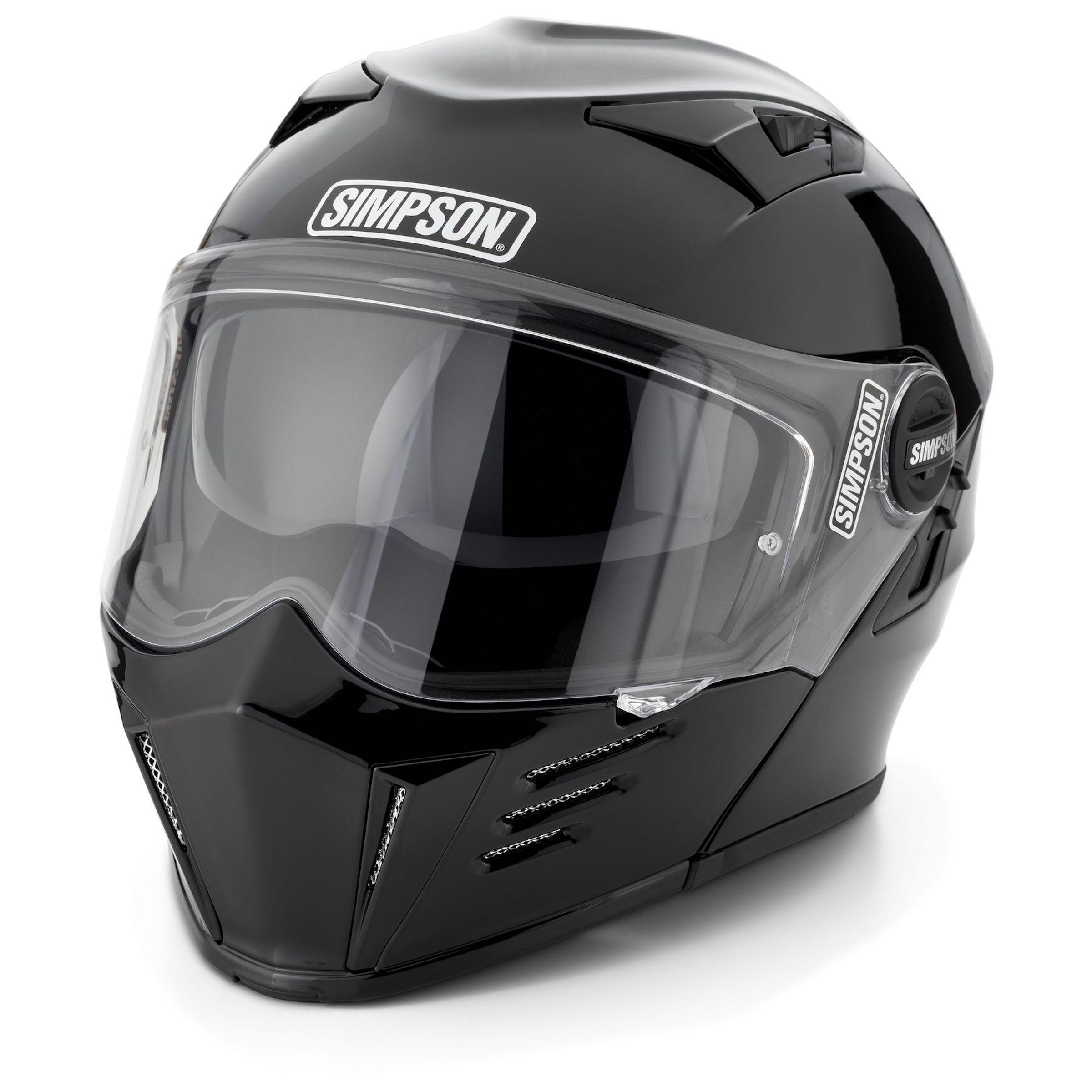 Lightweight Motorcycle Helmet >> Simpson Mod Bandit Helmet - A Retro Modular Helmet
