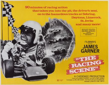 The Racing Scene - Featuring James Garner Poster