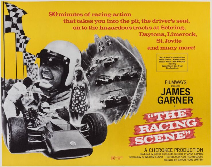 The Racing Scene - Featuring James Garner Poster