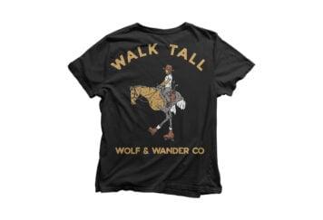 Wolf And Wander Tee