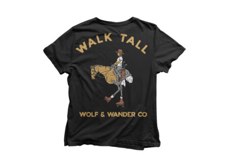 Wolf And Wander Tee
