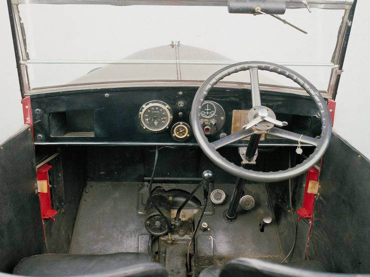 Austin 7 controls