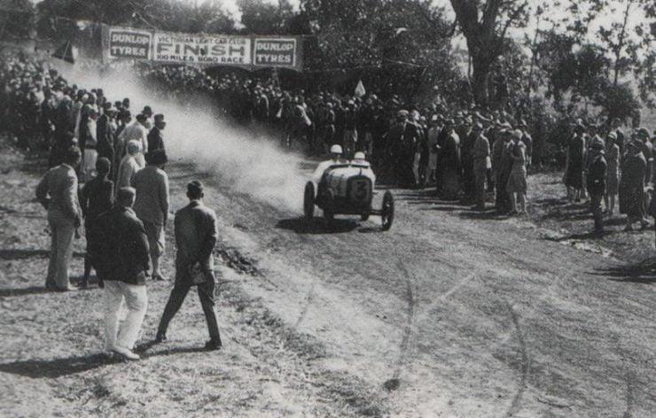 Arthur Waite Austin 7 100 Miles Race Australia 1928