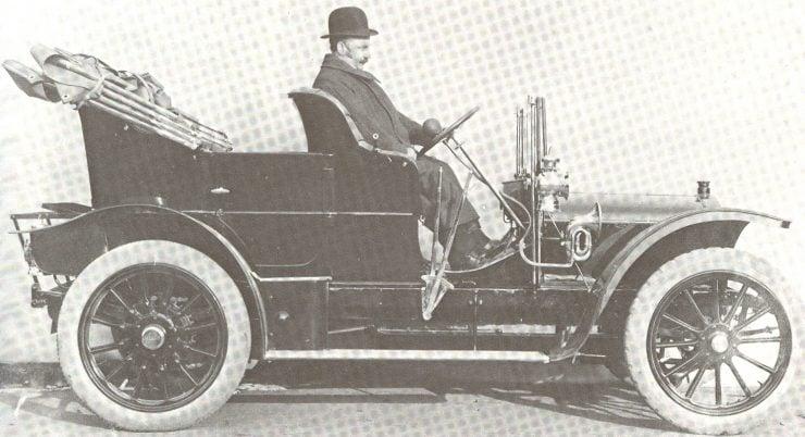 Herbert Austin Model18-24 1908