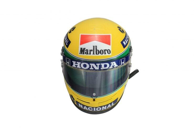 Ayrton-Senna-McLaren-Helmet Front