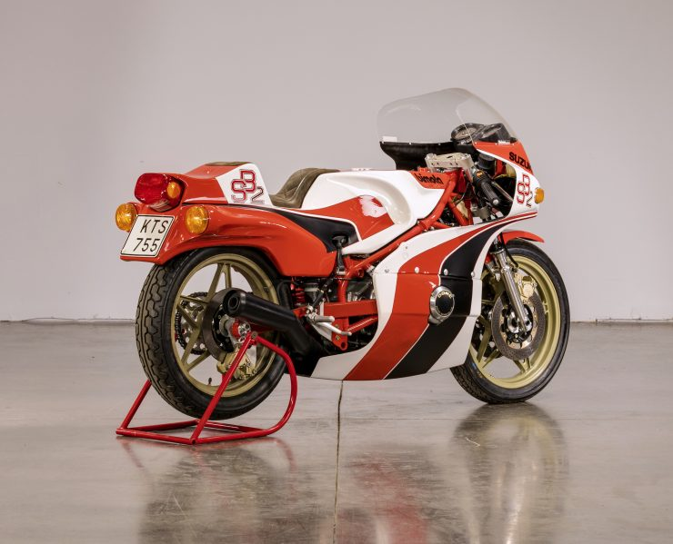 Bimota SB2 Motorcycle Rear 2