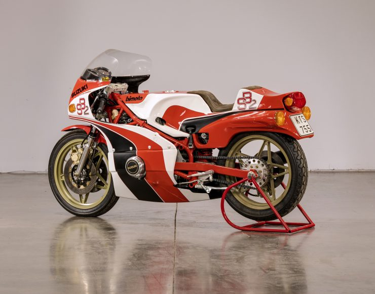 Bimota SB2 Motorcycle Rear