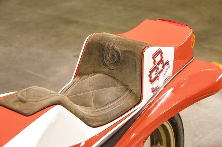 Bimota SB2 Motorcycle Seat