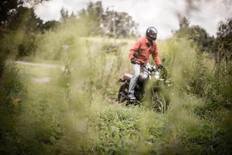 Crave Kevlar Motorcycle Shirt 5 740x494 - Forest Kevlar® Motorcycle Shirt by Crave - The Original
