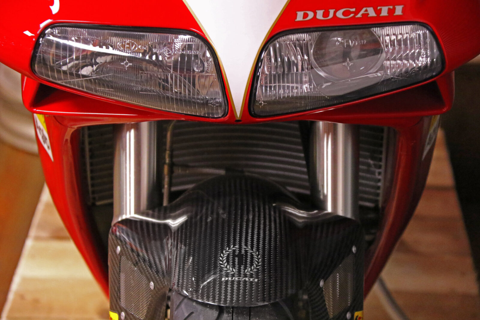The Ducati 916 SPS That Lived Down The Road