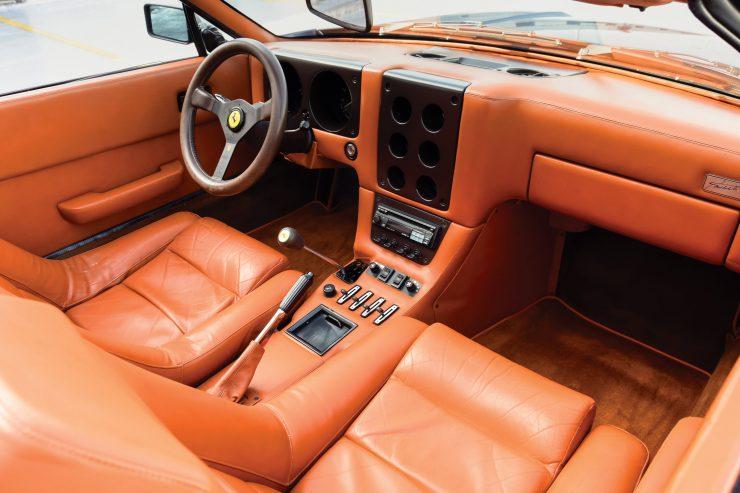 Ferrari 365 GTB 4 Daytona NART Spider Interior 2