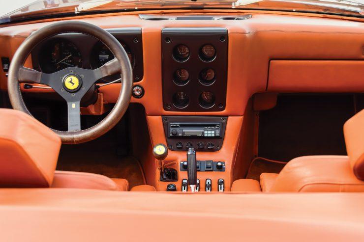 Ferrari 365 GTB 4 Daytona NART Spider Interior