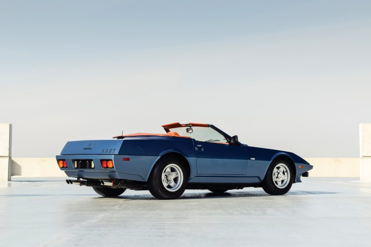 Ferrari 365 GTB 4 Daytona NART Spider Rear Side