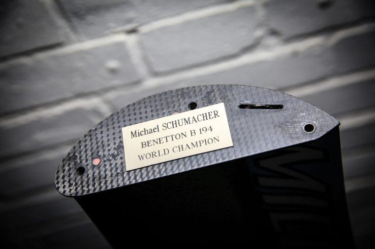 Formula 1 Rear Wing Schumacher 740x493 - Michael Schumacher's Benetton B194 Formula 1 Rear Wing - 1994