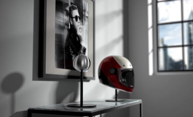 Halley Helmet Stand