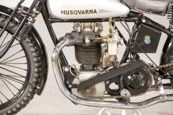 Husqvarna Model 30 A Motorcycle JAP Engine