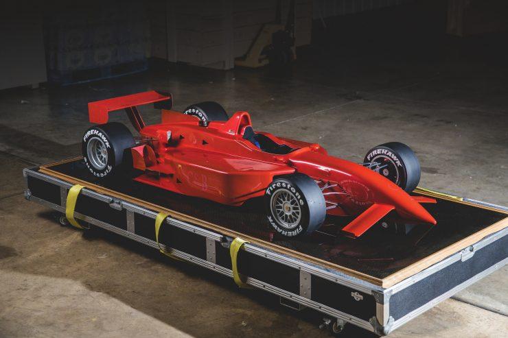 Indycar Wind Tunnel Car Model