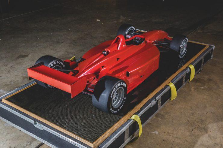 Indycar Wind Tunnel Car Model Back