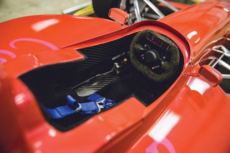Indycar Wind Tunnel Car Model Cockpit 2
