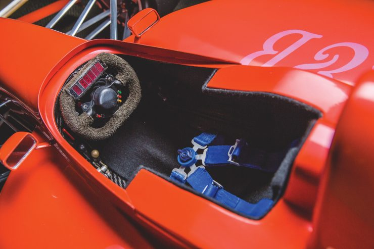 Indycar Wind Tunnel Car Model Cockpit
